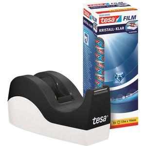 Klebefilmabroller Tesa 53915 Orca, schwarz/weiß