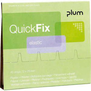 Pflaster Plum QuickFix Elastic, 45 Strips
