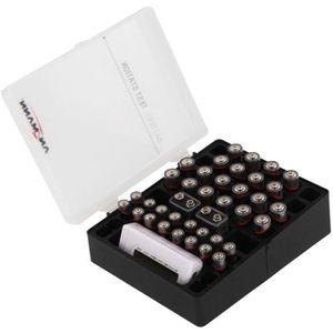 Batteriebox Ansmann 48 inkl. Batterie-Tester