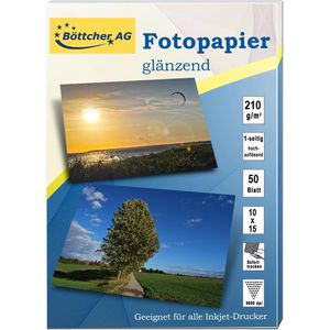 Fotopapier Böttcher-AG 10 x 15 cm, 50 Blatt