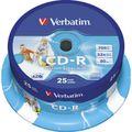 CD Verbatim 43439, 700MB, bedruckbar