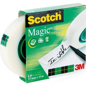 Klebeband Scotch Magic Tape 810, 12mm x 33m
