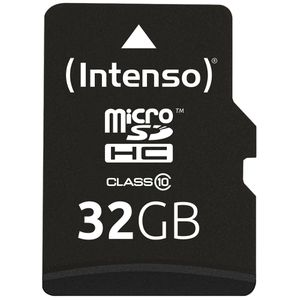 Micro-SD-Karte Intenso 3413480, 32 GB