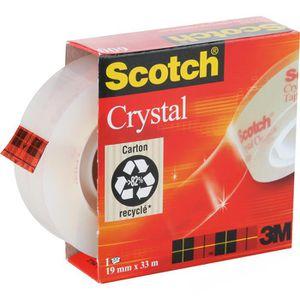 Klebeband Scotch Crystal Clear Tape 600
