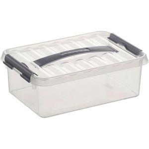 Aufbewahrungsbox Sunware Q-Line Box 78700609, 4L