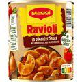 Fertiggericht Maggi Ravioli in pikanter Soße