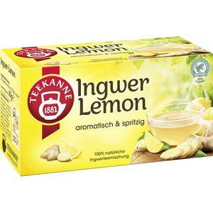 Tee Teekanne Spritziger Ingwer-Lemon