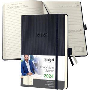 Buchkalender Sigel C2110, Conceptum, Jahr 2021
