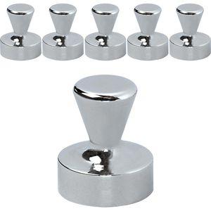 Neodym-Magnete Maul 61686, Ø 12 x 16 mm