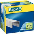 Heftklammern Rapid 24859800, 24/6, verzinkt