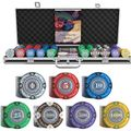 Pokerkoffer Bullets BG-PS-0006 Tony 500 Pokerchips