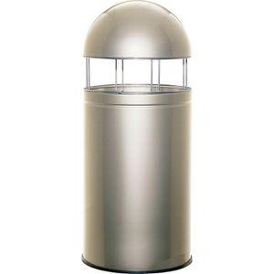 Mülleimer Wesco Big Cap 357901-03, neusilber