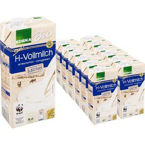 Milch Edeka H-Vollmilch 3,8% Fett, BIO