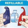 Zusatzbild Klebefilmabroller Tesa 57443 Easy Cut, rot/blau