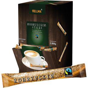 Zuckersticks Hellma Fairtrade Rohrzucker