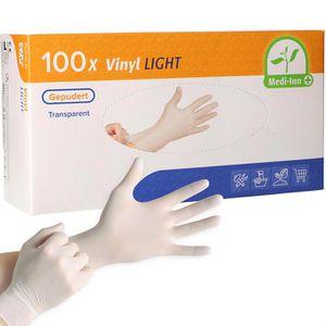 Einmalhandschuhe Medi-Inn Vinyl Light, gepudert