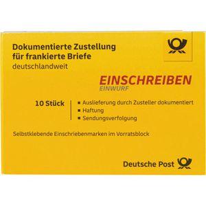 Einschreiben DeutschePost Einwurf, national