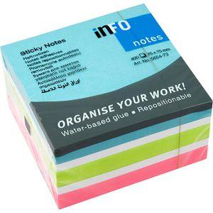 Haftnotizen Info Sticky Notes Cubes, 5654-73