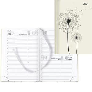 Buchkalender Alpha Style Blowballs, Jahr 2021