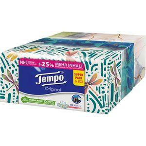 Taschentücher Tempo Original Trio Box
