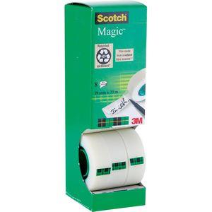 Klebeband Scotch Magic Tape 810, 19mm x 33m