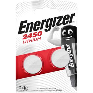 Knopfzelle Energizer CR2450