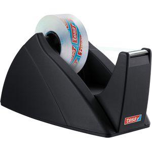 Klebefilmabroller Tesa 57421 Easy Cut, schwarz