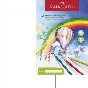 Zeichenblock Faber-Castell 212049, A4