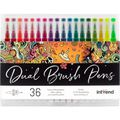 Brush-Pen Intrend Dual Brush Pens 36