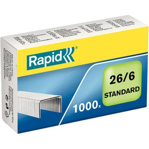 Heftklammern Rapid 24861300, 26/6, verzinkt