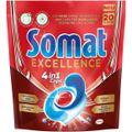 Spülmaschinentabs Somat Excellence 4in1 Caps