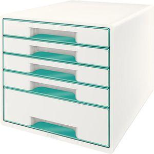 Schubladenbox Leitz 5214-20-51, WOW Cube, A4
