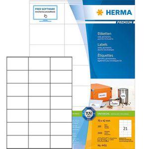 Universaletiketten Herma 4451 Premium, weiß