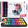 Farbkasten Intrend Aquarellfarbkasten, 36 Farben