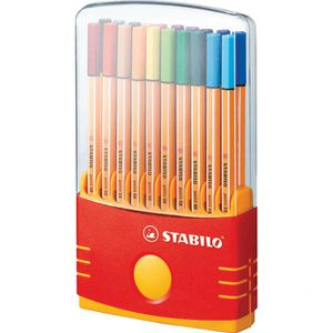 Fineliner Stabilo Point 88 ColorParade 8820-03