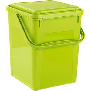 Mülleimer Rotho 1775505519 Komposteimer, grün