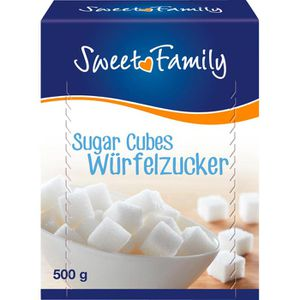 Zucker Sweet-Family Würfelzucker