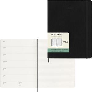 Buchkalender Moleskine 606525, X Large, Jahr 2021