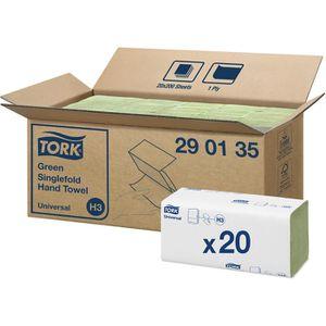 Papierhandtücher Tork Universal, 290135, H3, grün