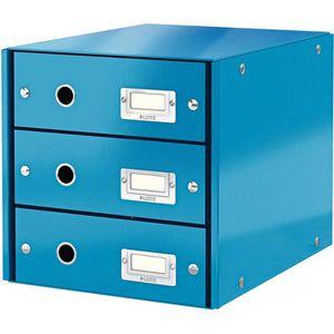 Schubladenbox Leitz 6048-00-36, WOW Click & Store