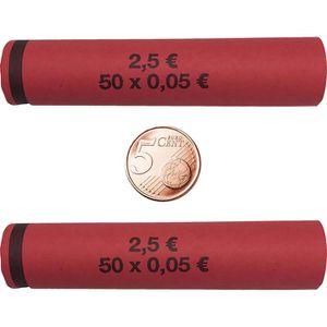 Münzhülsen Betec 3704, für Rollgeld