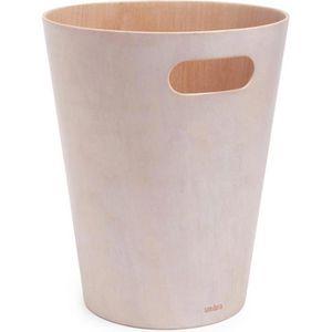 Papierkorb Umbra Woodrow Can, 082780-668, weiß
