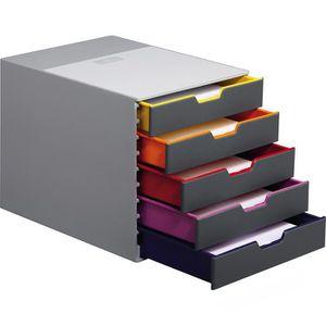 Schubladenbox Durable 760527, Varicolor 5, A4