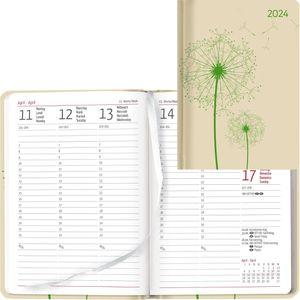 Buchkalender Alpha Ladytimer Blowballs, Jahr 2021