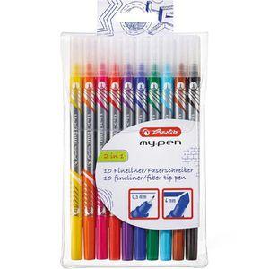Fineliner Herlitz my.pen, 11367232, 2 in 1
