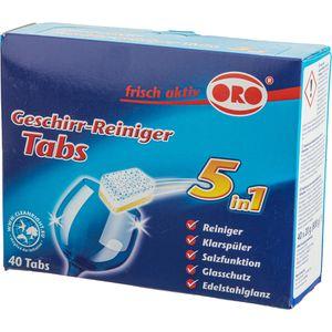 Spülmaschinentabs ORO frisch aktiv Tabs 5in1