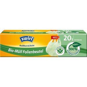 Müllbeutel Swirl Bio-Müll Folienbeutel, 20 Liter