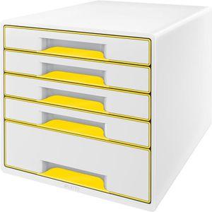 Schubladenbox Leitz 5214-20-16, WOW Cube, A4