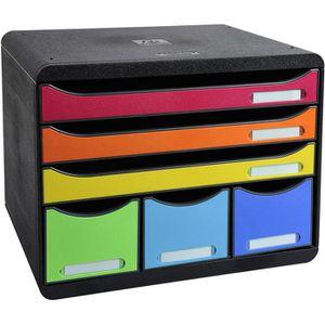 Schubladenbox Exacompta 306798D, Storebox Maxi