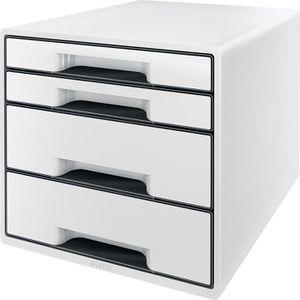 Schubladenbox Leitz 5252-20-01, WOW Cube, A4